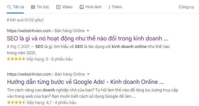 Cách đơn giản làm trang web được xếp hạng cao hơn trên google